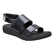 Womens Ecco Freja 2 Strap Sandals Shoe - Black Palm 41