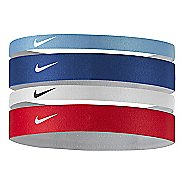 Womens Nike Printed Headbands Assorted 4-pack Headwear