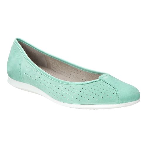 Womens Ecco Touch Ballerina 2.0 Perf Casual Shoe - Granite 41