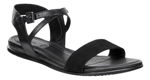 Womens Ecco Touch Ankle Sandals Shoe - Black 39