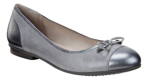 Womens Ecco Touch Ballerina Bow Casual Shoe - Dark Shadow 42