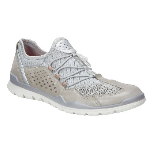 Womens Ecco Lynx Casual Shoe - Silver Grey/Concrete 37