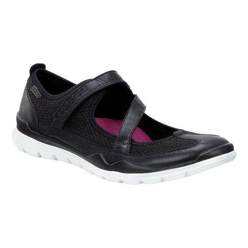 Womens Ecco Lynx Mary Jane Casual Shoe - Black 38