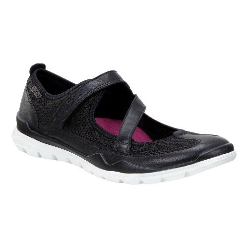 Womens Ecco Lynx Mary Jane Casual Shoe - Black 39