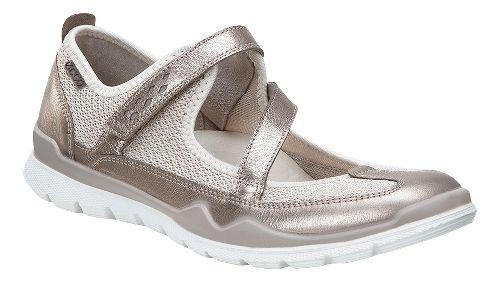 Womens Ecco Lynx Mary Jane Casual Shoe - Warm Grey 39