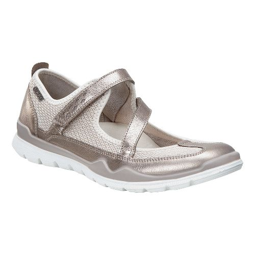 Womens Ecco Lynx Mary Jane Casual Shoe - Warm Grey 37