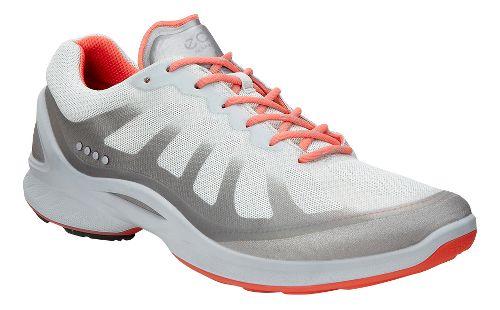 Womens Ecco BIOM Fjuel Racer Walking Shoe - Silver 40