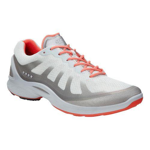 Womens Ecco BIOM Fjuel Racer Walking Shoe - Coral 38