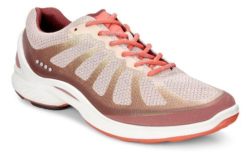 Womens Ecco BIOM Fjuel Racer Walking Shoe - Petal/Rose/Coral 36