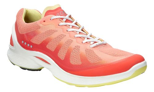 Womens Ecco BIOM Fjuel Racer Walking Shoe - Coral 41
