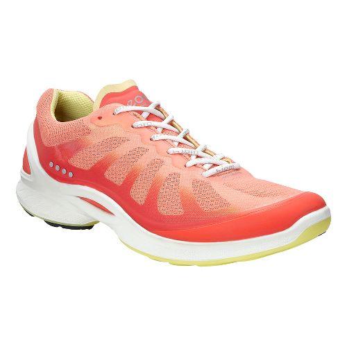 Womens Ecco BIOM Fjuel Racer Walking Shoe - Silver 41