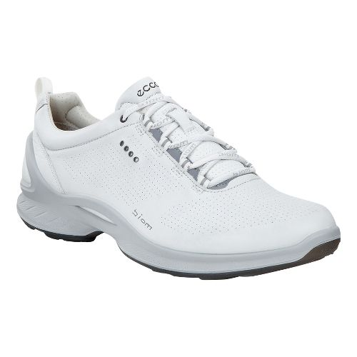 Womens Ecco BIOM Fjuel Train Casual Shoe - White 38