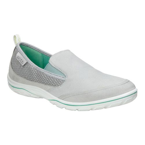 Womens Ecco Arizona Slip On Casual Shoe - Concrete 39