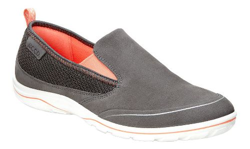 Womens Ecco Arizona Slip On Casual Shoe - Dark Shadow/Coral 41