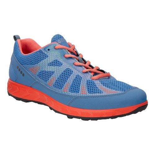 Womens Ecco Terratrail Trail Running Shoe - Cobalt 38
