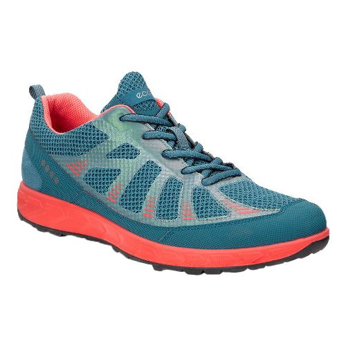 Womens Ecco Terratrail Trail Running Shoe - Petrol 39