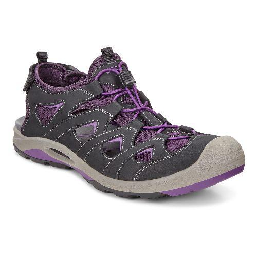 Womens Ecco BIOM Delta Offroad Casual Shoe - Black/Purple 41