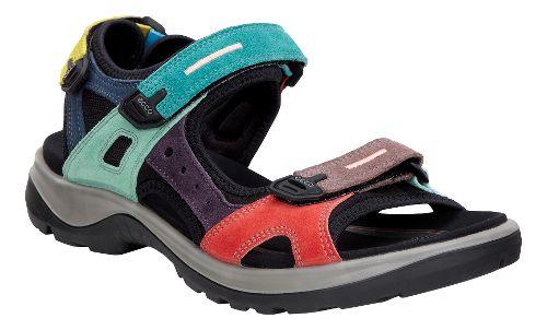 Womens Ecco Anniversary Yucatan Sandals Shoe - Multi-color 35
