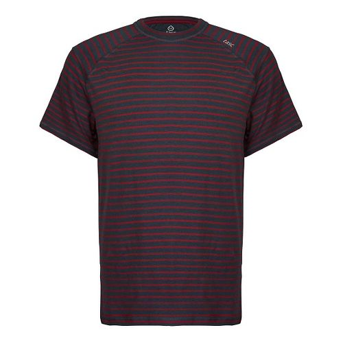 Mens Tasc Performance Carrollton T Printed Short Sleeve Technical Tops - Bamboo Stripes XL