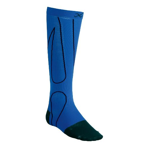 CW-X PerformX Socks Injury Recovery - Blue/Black M