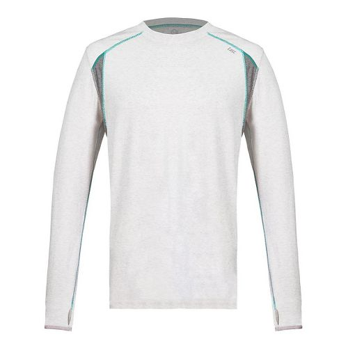 Mens Tasc Performance Circuit Long Sleeve Technical Tops - Ash Heather M