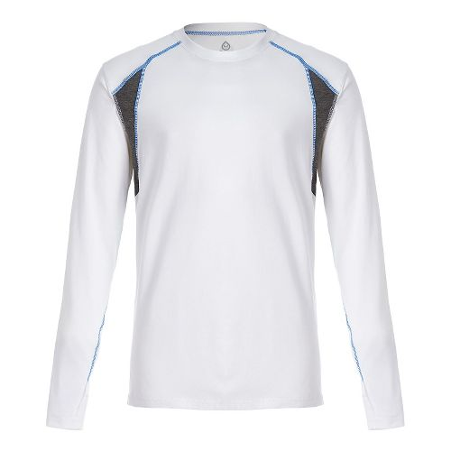 Mens Tasc Performance Circuit Long Sleeve Technical Tops - White L