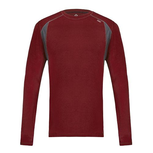 Mens Tasc Performance Circuit Long Sleeve Technical Tops - Brick House M