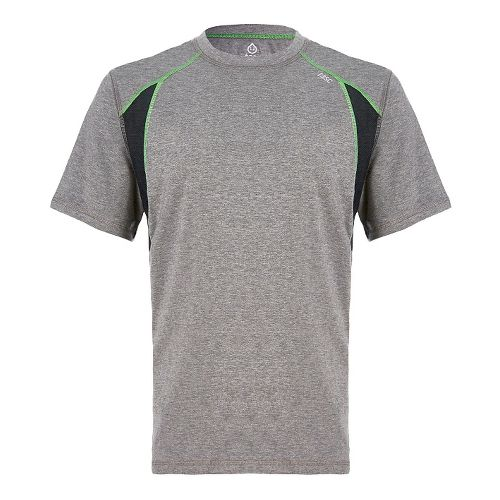 Mens Tasc Performance Circuit T Short Sleeve Technical Tops - Heather Grey XXL