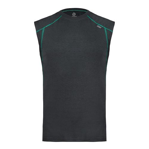 Mens Tasc Performance Circuit Sleeveless & Tank Tops Technical Tops - Gunmetal S