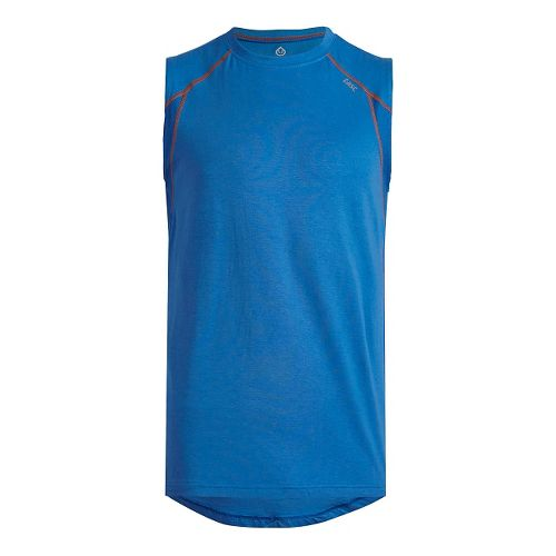 Mens Tasc Performance Circuit Sleeveless & Tank Tops Technical Tops - Blue/Orange L