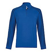 Mens Tasc Performance Core 1/4-Zip Printed Long Sleeve Technical Tops