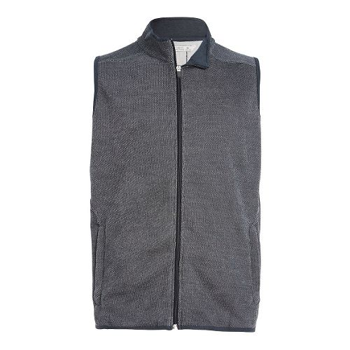 Mens Tasc Performance Transcend Fleece Vests Jackets - Heather Grey XL