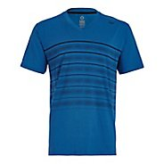 Mens Tasc Performance Vital V-Neck T Printed Short Sleeve Technical Tops