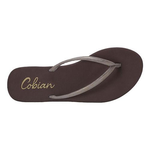 Womens Cobian Nias Sandals Shoe - Chocolate 9