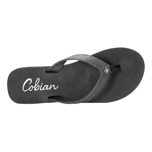 Womens Cobian Skinny Bounce Sandals Shoe - Black 8