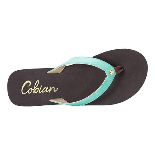 Womens Cobian Skinny Bounce Sandals Shoe - Teal 6