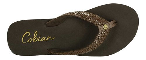 Womens Cobian Lalati Sandals Shoe - Chocolate 9