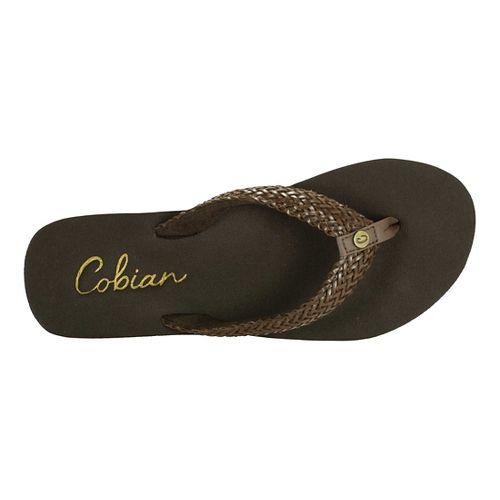 Womens Cobian Lalati Sandals Shoe - Chocolate 10