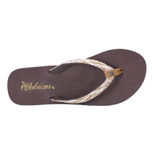Womens Cobian Lalati Sandals Shoe - Tan 8