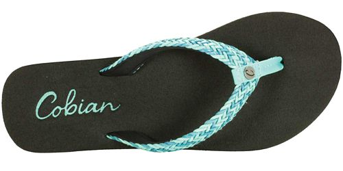 Womens Cobian Lalati Sandals Shoe - Aqua 10