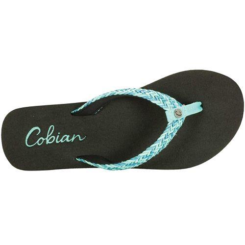 Womens Cobian Lalati Sandals Shoe - Aqua 10