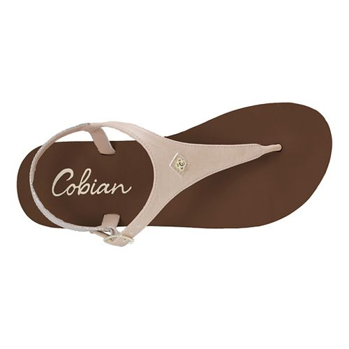 Womens Cobian Brooklyn Sandals Shoe - Nude 8