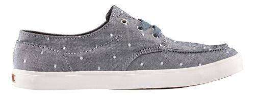 Womens Reef Deckhand 3 TX Casual Shoe - Blue Dots 6