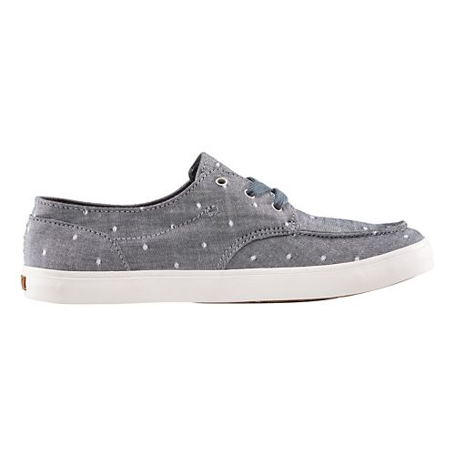 Womens Reef Deckhand 3 TX Casual Shoe - Blue Dots 8