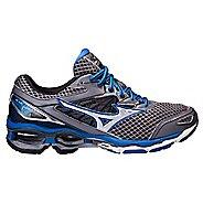 Mens Mizuno Wave Creation 18 Running Shoe - Steel/Blue 8