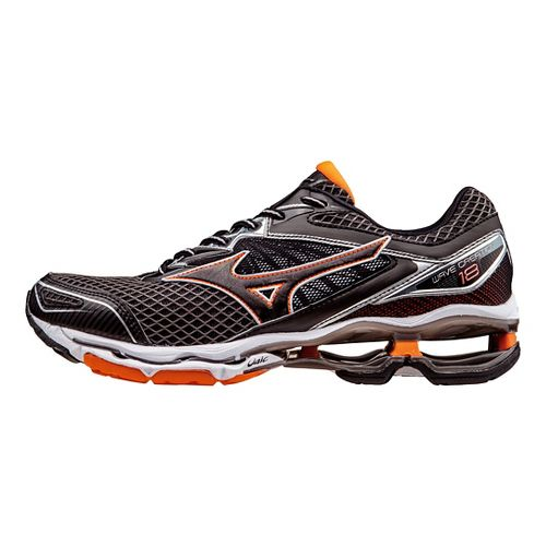 Mens Mizuno Wave Creation 18 Running Shoe - Shadow/Clownfish 12.5