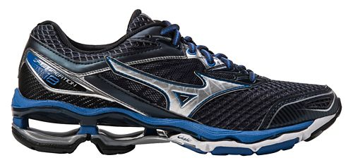 Mens Mizuno Wave Creation 18 Running Shoe - Navy/Blue 8