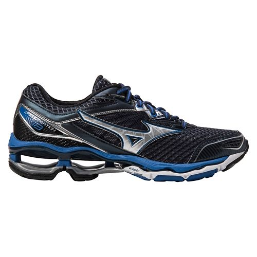 Mens Mizuno Wave Creation 18 Running Shoe - Navy/Blue 12.5