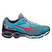 Womens Mizuno Wave Creation 18 Running Shoe - Blue/Pink 6