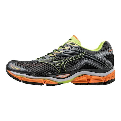 Mens Mizuno Wave Enigma 6 Running Shoe - Black/Orange 9